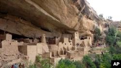 Palata na litici drevnog naroda Pueblo, Mesa Verde, Colorado