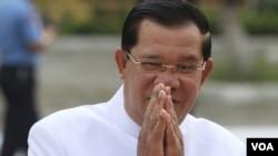 柬埔寨總理洪森