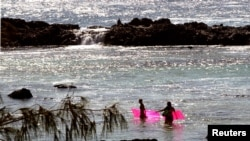 Pantai Oahu utara di Sunset Beach, Hawaii. (Foto: Ilustrasi)