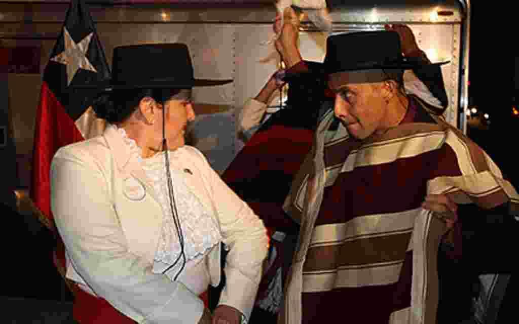 El ambiente de fiesta reinó durante las seis horas de actividades frente a la Emabaja de Chile en Washington.