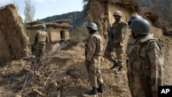 巴基斯坦軍方巡視南部地區。