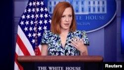 Juru bicara Gedung Putih, Jen Psaki.