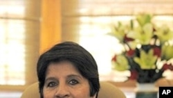 Indian Foreign Secretary Nirupama Rao (file photo)