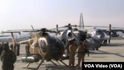 د افغانستان هوایي قوه څلور لیوا لري چې دوه یې په کابل او یوه یې په کندهار او بله یې په شینډنډ کې پرته ده