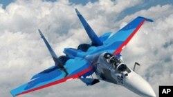 俄羅斯蘇-30戰鬥機(資料圖片)