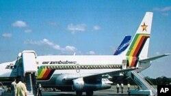 Ndege ya shirika la ndege la Air Zimbabwe