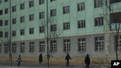 지난 10일 북한 평양 거리. (자료사진)