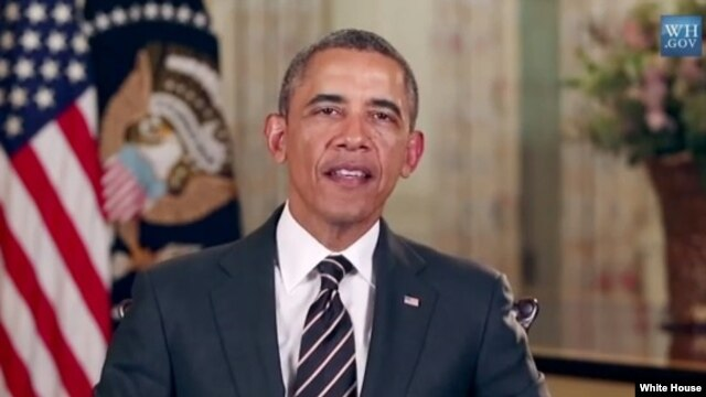 In his weekly radio address, US President Barack Obama called on Congress to extend unemployment insurance for Americans who have been laid off.