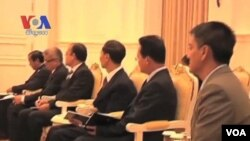 Clinton Meets With Asean States Ahead of Regional Forum (Cambodia news in Khmer)