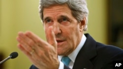 El secretario de Estado, John Kerry, hizo las declaraciones ante un comité de la Cámara de Representantes.