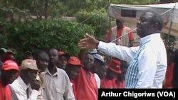 Mutungamiri weMDC T, VaMorgan Tsvangirai vachisangana nevatsigiri vavo