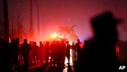 طالبان مسوولیت حمله را به عهده گرفته اند.