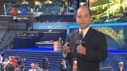 Obama's Reelection Rally Convention Opens in North Carolina (news in Khmer)