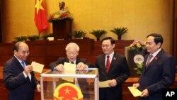 """""""Tứ trụ"""" lãnh đạo cao nhất của Việt Nam."""