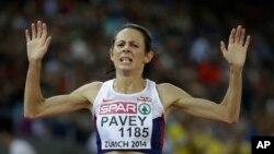 برطانوی دوڑ کی کھلاڑی جو پیوئے