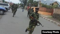 刚果民主共和国反政府武装攻占戈马(美国之音马利维卡拍摄)