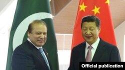 پاکستانی وزیراعظم اور چینی صدر شی جنپنگ