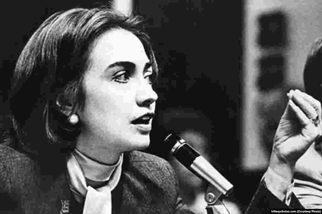 After law school, Hillary went to work for the Children's Defense Fund. (hillaryclinton.com)
