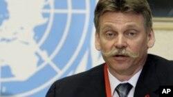 피터 기스 유엔 에이즈계획 연구원. (자료사진)