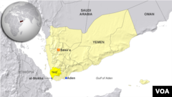 Lokasi kota pelabuhan Al-Mokha di Yaman (foto: ilustrasi).