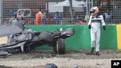 El accidente se produjo durante la primera carrera de la temporada de F1 en el circuito de Albert Park de Melbourne, Australia.