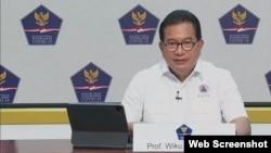 Juru Bicara Satgas Penanganan Covid-19 Prof Wiku Adisasmito. (Foto: VOA).