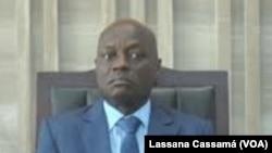 José Mário Vaz est le président de Guinée-Bissau depuis le 23 juin 2014, photographié ici le 28 janvier 2016.