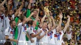 Gjermania, fituesja e Kampionatit Botëror të Futbollit