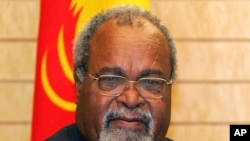 Sir Michael Somare (file photo)