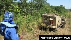 Mina Wol, descoberta em Manica, Moçambique