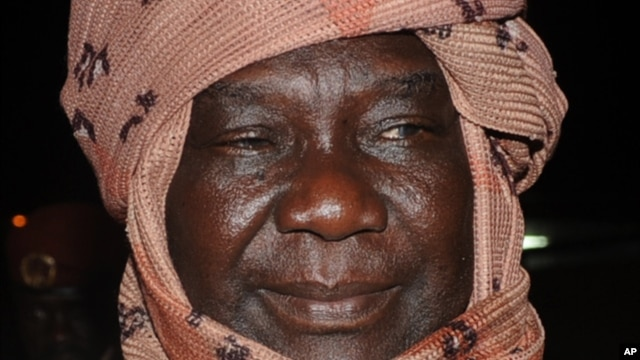 Seleka rebel leader Michel Djotodia.