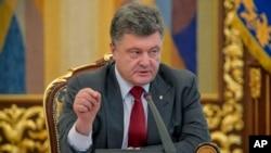 Prezident Petro Poroshenko, 17-iyul, 2014