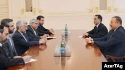 Prezident İlham Əliyev İranın təhlükəsizlik şurasinin katibi Səid Cəlilini gəbul edib