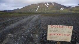Islanda shpall kodin e kuq për avionët