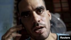 El disidente cubano Danilo Maldonado fue detenido el 26 de noviembre, acusado de daños a la propiedad.