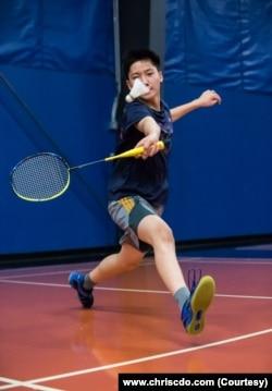Menurut sang ibu, David mencoba beragam olah raga saat tumbuh besar – badminton pun menjadi favoritnya.