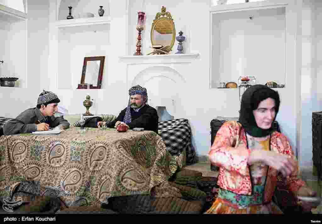 موزه مردم شناسی خانه کرد در استان کردستان عکس: عرفان کوچاری