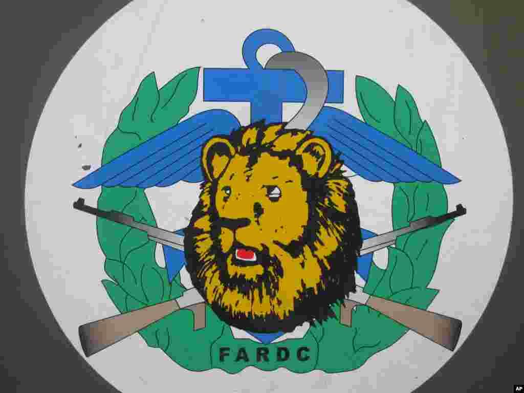 Logo des FARDC Nicolas Pinault VOA