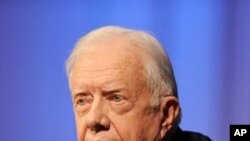 Former US President Jimmy Carter (file photo)