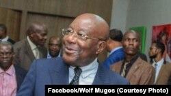 Albert Mpeti Biyombo, ministre de la Santé, à Kinshasa, le 11 octobre 2019. (Facebook/Wolf Mugos)