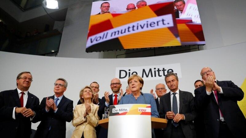 جرمنی: چانسلر آنگیلا مرخیل کی جیت کا امکان روشن