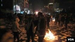 Протест в іранському місті Карадж