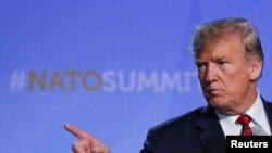 Ông Trump đã dùng những lời lẽ nặng nề để lên án các đồng minh NATO