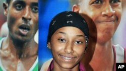 Cô Noor al-Malki nữ vận dộng viên đầu tiên của Qatar thi đấu ở bộ môn điền kinh, trong nội dung 100 mét chạy nước rút.