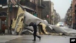 Srušena zgrada u Francuskoj četvrti u New Orleansu