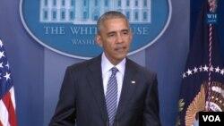 Barack Obama, Washington, le 14 novembre 2016