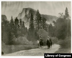 Theodore Roosevelt at Yosemite National Park, California