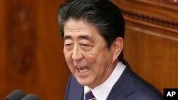 아베 신조 일본 총리.