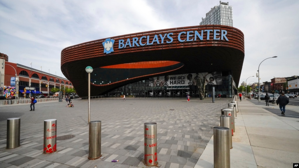 "Stadiumi i Nju Jorkut, ""Barclays Center"""