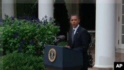 Predsjednik Obama komentira smrt Moamara Gadafija, 20. listopada 2011.